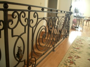 Forged (Wrought Iron) Railing