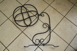 Hand Forged Ornaments
